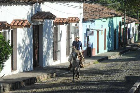 el salvador: Colonial town of Suchitoto on El Salvador Editorial