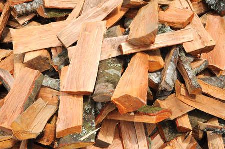 moltitudine: Moltitudine di pezzi di legno Archivio Fotografico