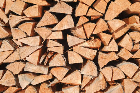 multitude: Multitude of wood pieces for background Stock Photo