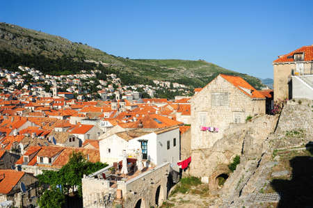 The old town of Dubrovnik on Croatia photo