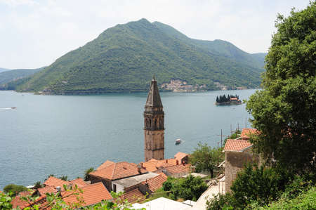 Village of Perast on the bay of Kotor, Montenegro photo