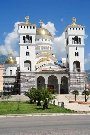 ortodox: The ortodox church of Bar on Montenegro Stock Photo