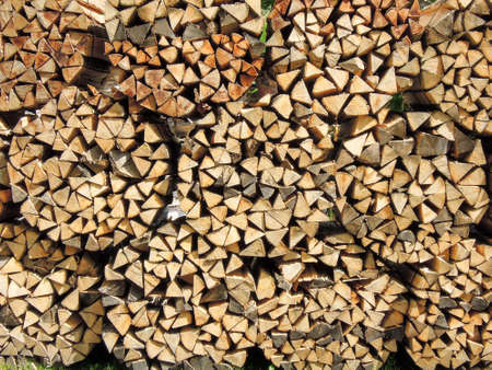 moltitudine: Gran numero di pezzi di legno per lo sfondo