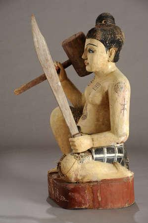 nat: Burmese statue of Nat