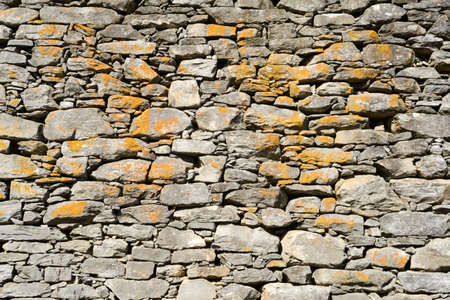 overbuilding: Stone wall for background and texture