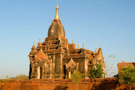 kona: Itza kona temple at the archaeological site of Bagan on Myanmar Stock Photo
