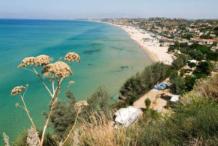 castellammare del golfo: The coast of Castellammare del Golfo in Sicily