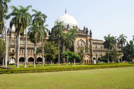 Prince of Wales Museum in Mumbai, India Editorial