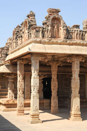 karnataka culture: Hazara Rama Temple at Hampi on India