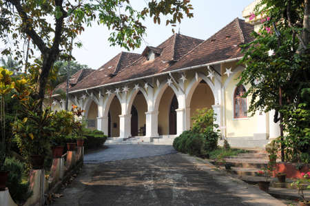 fort: Bisop house at Fort Cochin on India Editorial