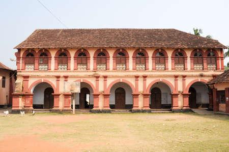 secondary school: Santa cruz secondary school at Fort Cochin Editorial