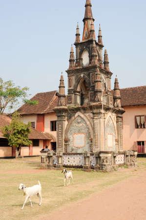 secondary school: Santa cruz secondary school at Fort Cochin on India