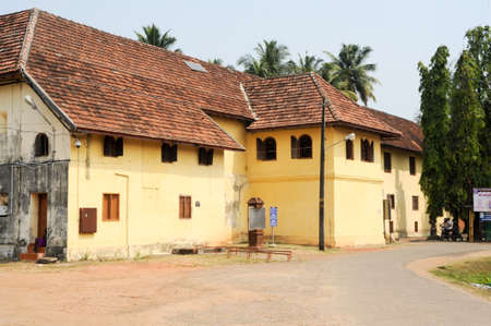 De Mattancherry paleis een Cochin op India