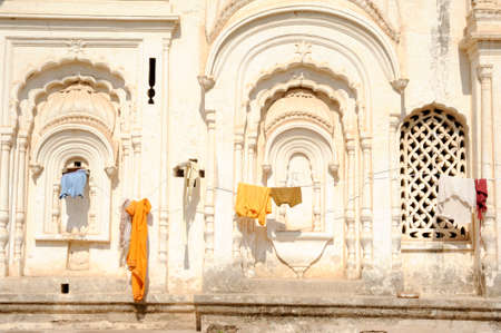khajuraho: Ancient Chhatri building at Khajuraho on India