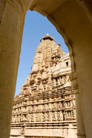 khajuraho: Temple of Khajuraho on India