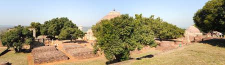 sanchi stupa: Sanchi Stupa is located at Sanchi Town, Madhya Pradesh state in India