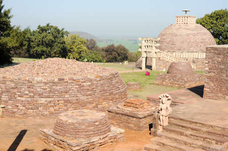 Sanchi Stupa is located at Sanchi Town, Madhya Pradesh state in India
