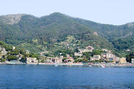 monterosso: The beach of Monterosso on Cinque Terre, Italy