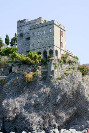 monterosso: The castle of Monterosso on Cinque Terre, Italy