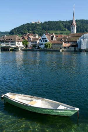 stein: The beautiful medieval town of Stein am Rhein on Switzerland