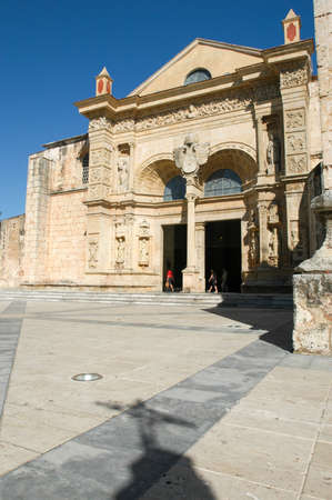 16th century: 16th Century Cathedral of Santo Domingo on Dominican Republic Stock Photo
