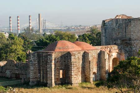 domingo: Ruins of San Francisco monastery in Santo Domingo, Dominican Republic