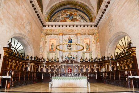 cristobal: Interior of Cathedral San Cristobal in Old Havana, Cuba