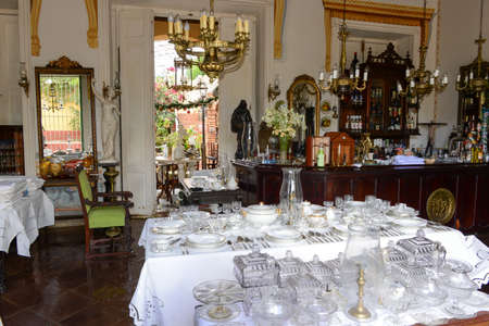 antiques: Trinidad, Cuba - 9 january 2016: antiques store in the colonial town of Trinidad in Cuba