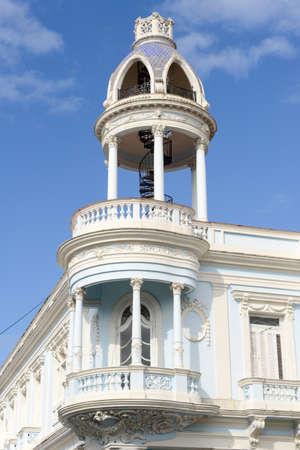 latina america: Cienfuegos, Cuba - Cuban colonial architecture - Old Town of Cienfuegos