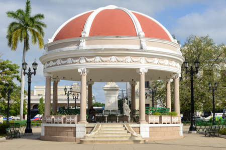 bandstand: Bandstand in the Plaza Jose Marti at Cienfuegos on Cuba