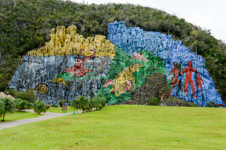 prehistory: The Mural of Prehistory, Vinales Valley, Cuba