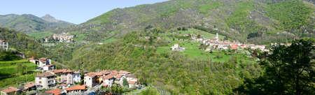 The villages of Campora, Bruzella and Caneggio on Muggio valley, Switzerland
