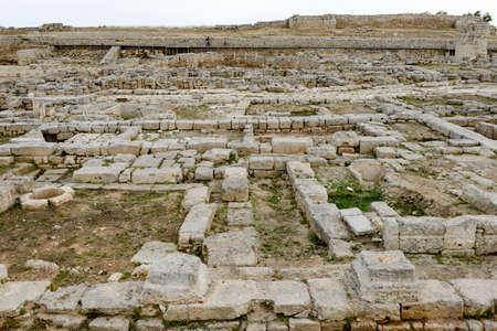 Fasano, Italie - 22 juin 2016: Ruines romaines d'Egnazia sur les Pouilles, Italie