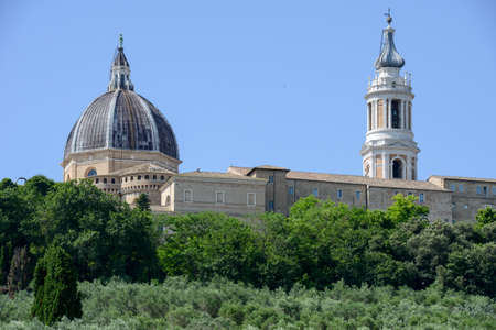 maderno: Shrine of Our Lady at Loreto on Marche, Italy
