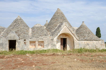 Traditional Trulli house on Puglia, Italy