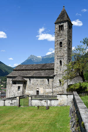 St Peter and Paul church in Biasca, Cantone Ticino, Switzerland