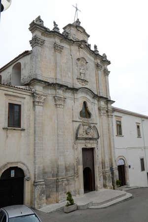 Church of Monte SantAngelo on Puglia, Italy Stock Photo