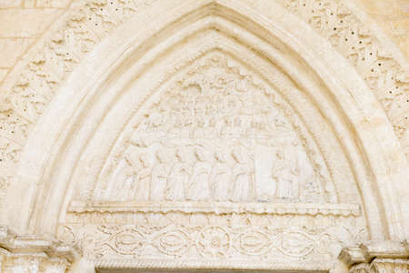 monte sant'angelo: Detail of St Michael basilica at Monte SantAngelo on Puglia, Italy