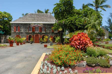 Town hall of Saint Leu on La Reunion island, France