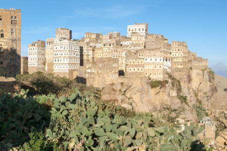 The village of Al Hajjarah on Haraz mountains, Yemen