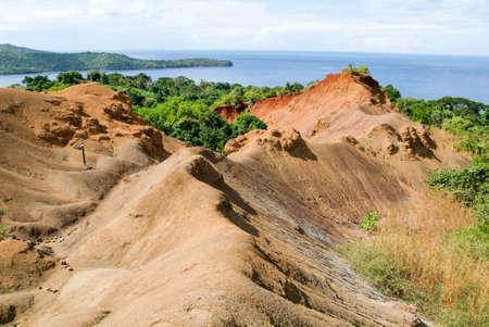 マイヨット島、フランスの海岸の風景