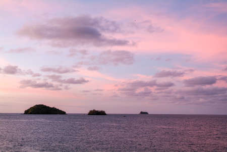 mayotte: Tropical sunrise at Mayotte island, France