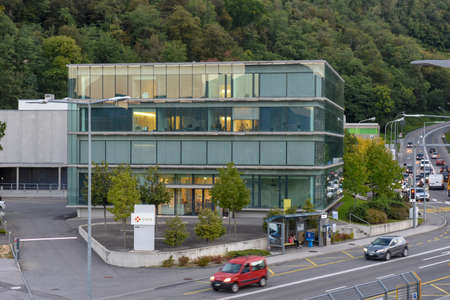 Lugano, Switzerland - 21 September 2017: Swiss National Supercomputing Centre at Lugano on Switzerland Sajtókép