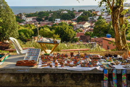 Old colonial town of Olinda on Brazil