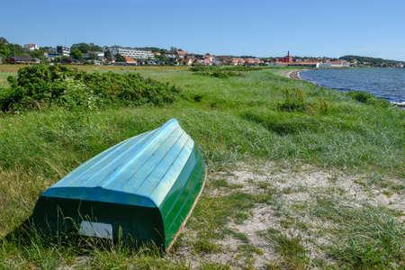 The coast of Ebeltoft on Djursland in Denmark