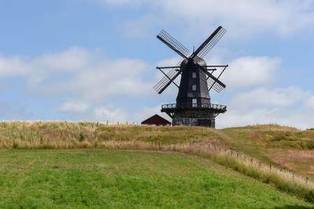 Old wodden windmill at Mölle on Sweden