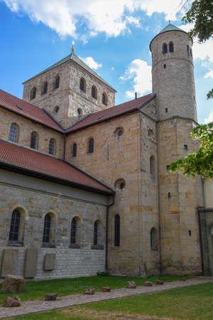 St Michael's church at Hildesheim on Germany Foto de archivo