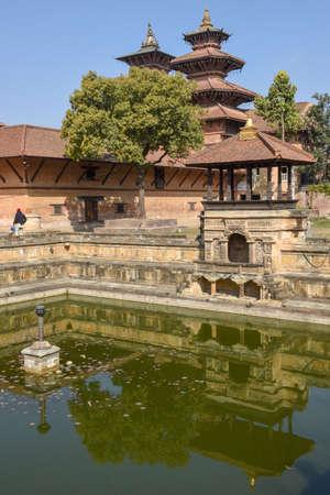 Temple of Durban square at Patan near Kathmandu on Nepal