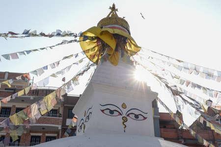 Buddhist stupa of Patan near kathmandu on Nepal 版權商用圖片