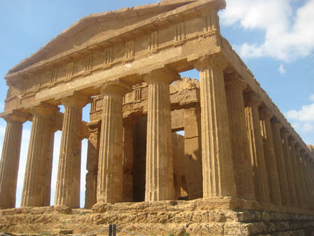 agrigento: Temple of Concordia in Agrigento, Sicily